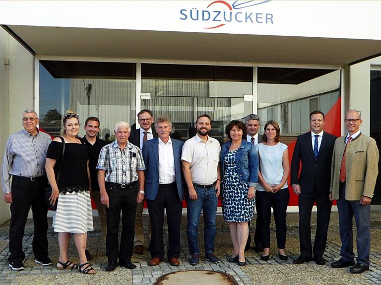 Besuch bei Südzucker